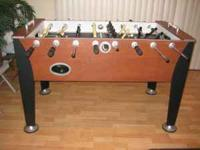 CLASSIC SPORT FOOSBALL TABLE FOR SALE $150.00. IN GREAT