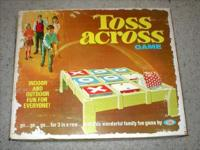 This vintage Toss Across game by Perfect from 1974 is
