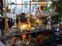 We have a variety of Vintage to New Crystal and