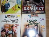 3 Stooges Dragnet - sealed Andy Griffith -sealed Ozzie