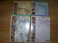 Four unopened box sets of the classic tv show 'The Lucy