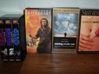 Braveheart, American Beauty, Saving Private Ryan(