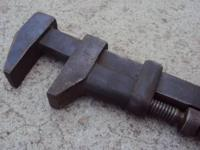 RailRoad Wrench Brand W & B RailRoad Special Warranted