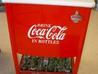 Traditional Vintage Restored Coca-Cola Cooler $500. In