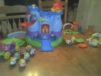 $60 obo like new condition! Includes: Castle (with