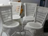 BEAUTIFUL... Four(4) CHAIRS. Made from Indonesia.