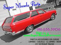 SUPER MUSCLE PARTS Located in CA  Give Us a CALL!!!!