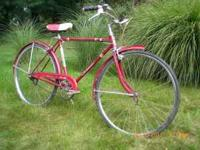 All original Made in the USA Schwinn Racer Model with