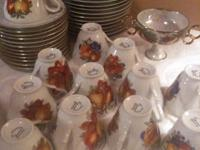 ? Estate Sale ? Classic Fine Bone China Dinnerware - 36