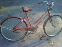 Looking to sell a classic Brown Columbia 3pd girls bike