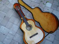 Late 70's Cortez Classical Guitar in extremely nice