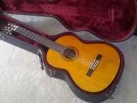 For sale is my Yamaha CG-100 classical guitar. It is in