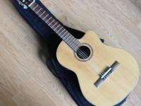 Sierra SC 140CE Classical Cut Away acoustic electric
