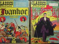 CLASSICS ILLUSTRATED LOT 24 BOOKS HRN 85-163 June