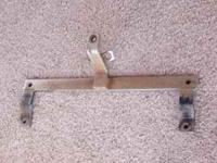 This is a Draw-tite hitch for a Ford Bronco 1966-69.