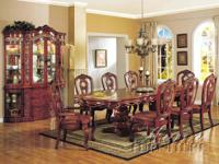 VERY HIGH END, HEAVY DUTY FORMAL DINING ROOM SETS