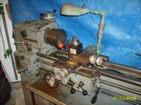 Clausing 12 inch Metal Lathe: 3hp, 3 phase, equiped