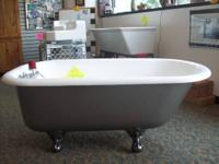 We have Antique Refinished Clawfoot tubs for Sale.