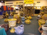 The very best Mexican Pottery in Texas.  Clay-based
