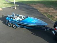 18FT, ADVANTAGE JET BOAT, SEATS 4, DRIVE ON TANDEM