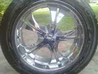 i have a nice 20 inch rims with tires. tires are almost