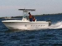 I have a 2000 20' Trophy Center console for sale with a