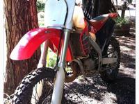 Well taken care of 2001 Honda CR125. Has IMS oversized