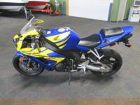 CLEAN 2006 HONDA CBR 1000RR WITH ONLY 5705 MILES!