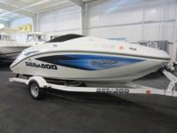 CLEAN 2006 SEA-DOO 180 CHALLENGER WITH ONLY 54 ENGINE