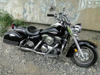 2007 Kawasaki Vulcan 1600 Nomad. Only 28K miles on this