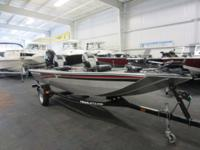 CLEAN 2010 TRACKER 16 PANFISH WITH ONLY 19 ENGINE