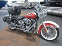 CLEAN 2012 HARLEY-DAVIDSON SOFTAIL DELUXE WITH 18,183