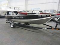 CLEAN 2013 LUND WC 14! A 9.9 hp Mercury ELH outboard
