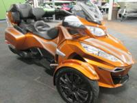 CLEAN 2014 CAN-AM SPYDER RT-S SE6 WITH ONLY 9,522 MILES
