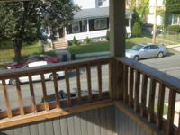 This second floor apt. on upper Sargeant st. in offers