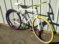 I have a Fixie bike I got about a year ago from my