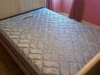 Full size box spring and mattress in good clean