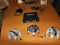 My old N64 doesn't get made use of and so I'm offering