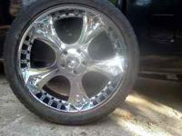 24's off a 2002 Dodge 1500.....they are 5x5.5 so they
