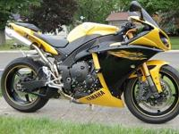 I have a nice condition used 2009 Yamaha R1. It has a