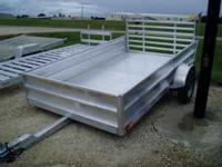 Brand New 2011 Newman's All Alluminum Utility Trailer