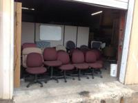 We have massive inventory of workplace furnishings and