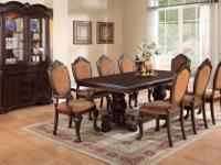Type:Dining RoomType:SetsBrand New Formal Dining