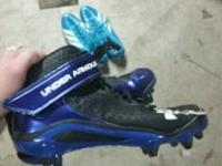 under armour blue cleats, addidas track spikes,baseball