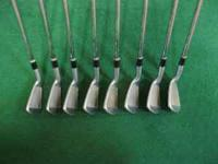 USED set of Cleveland CG2 Irons 3-PW. Good Shape with