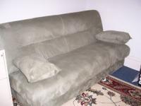 Istikbal Reno Sofa Sleeper Storage beneath, Soft Green