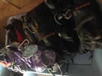 I have tons of climbing /rappel/belay gear, hardly