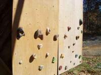 Climbing Wall for in or out doors. 100.00 each or
