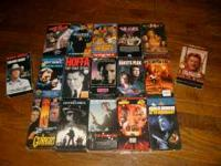 I've got about 20 VHS I'm Selling They are .50 cents
