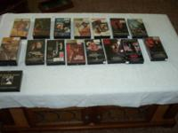 A Great Buy - All VHS are in original packages Films